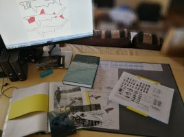 Picture of the author's desk.